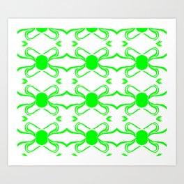 Linus Green Art Print