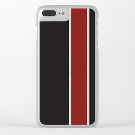 Mass Pattern Clear iPhone Case