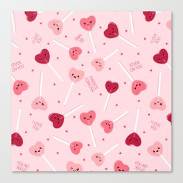 Valentine Sweetheart Canvas Print