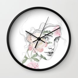 Botanical #1 Wall Clock