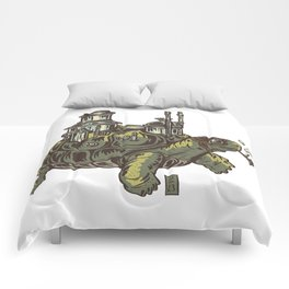 Steampunk Turtle Comforters