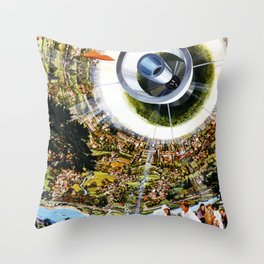 Interior View, Bernal Sphere Throw Pillow