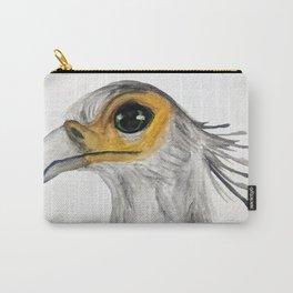 Secretary Bird Watercolour Carry-All Pouch