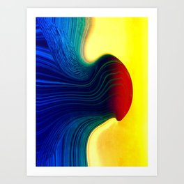 Molten Art Print