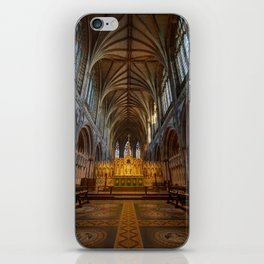 Lichfield cathedral inside iPhone Skin