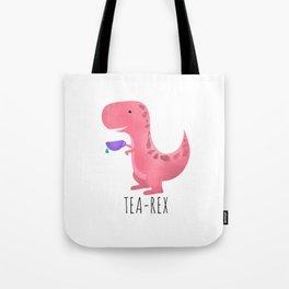 Tea-Rex | Pink Tote Bag