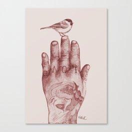 lovehand Canvas Print