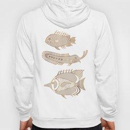 Fantastical Fish 1 - Natural Hoody