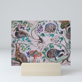 Forest Scene Mini Art Print