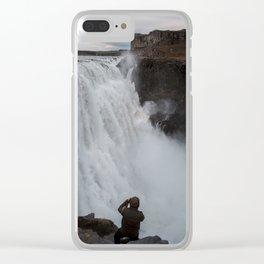 Dettifoss Clear iPhone Case
