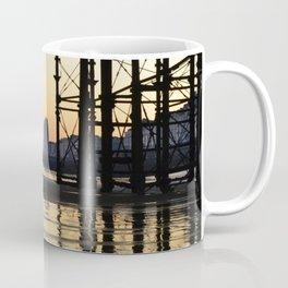 Hastings pier afterglow Coffee Mug