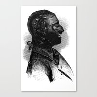 bdsm Canvas Prints featuring BDSM XXXVI by DIVIDUS