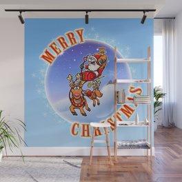 Merry Christmas Snowglobe! Wall Mural