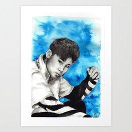 Kim Seok Jin Art Print