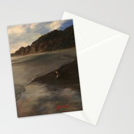 Early Evening With Seagull, Manzanita Stationery Cards