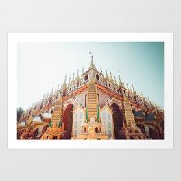 Budhist Monastery Art Print