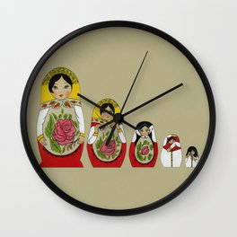 Birth of an Icon Wall Clock