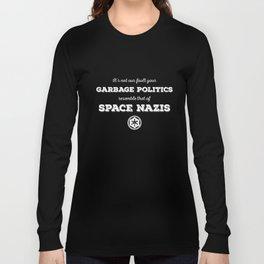 Space Nazis (white text) Long Sleeve T-shirt