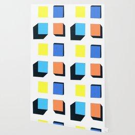 Squares in cross Wallpaper