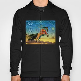 The Wind of Time (Red Horse) Hoody