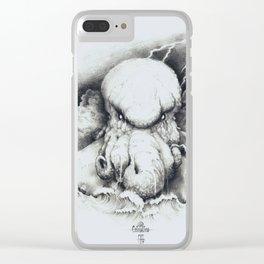 Cthulu Clear iPhone Case