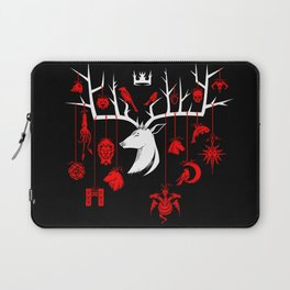 Stag-gered Houses - TF Version Laptop Sleeve