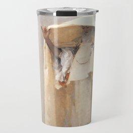 Fumée d'Ambre Gris - Smoke of Ambergris by John Singer Sargent Travel Mug