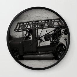 Lost Cars Seven  Wall Clock