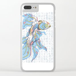 Koi Fish Clear iPhone Case