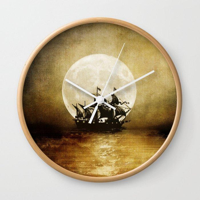 Vintage. Trip. Wall Clock