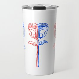 Three Roses Travel Mug