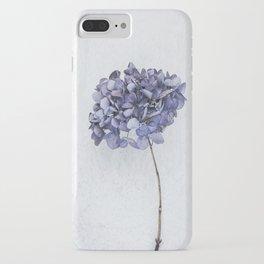 Dried Blue Hydrangea iPhone Case