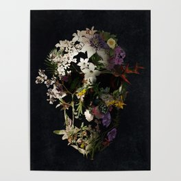 Spring Skull 2 Poster