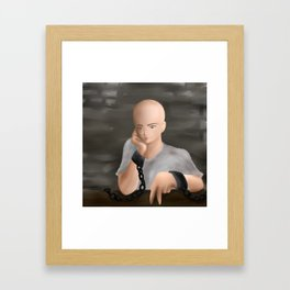 chain Framed Art Print
