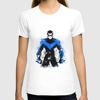 nightwing T-shirts featuring Nightwing by fouur