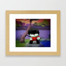 Ranma Saotome! Framed Art Print
