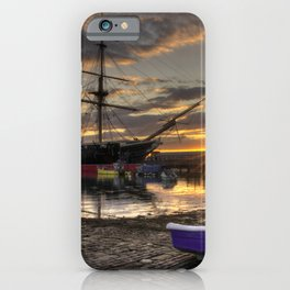 Warrior Sunset iPhone Case