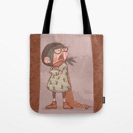 Maus winter Tote Bag