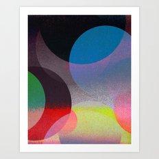 Untitled 20121006u (ANDY'S CIRCLE) Art Print
