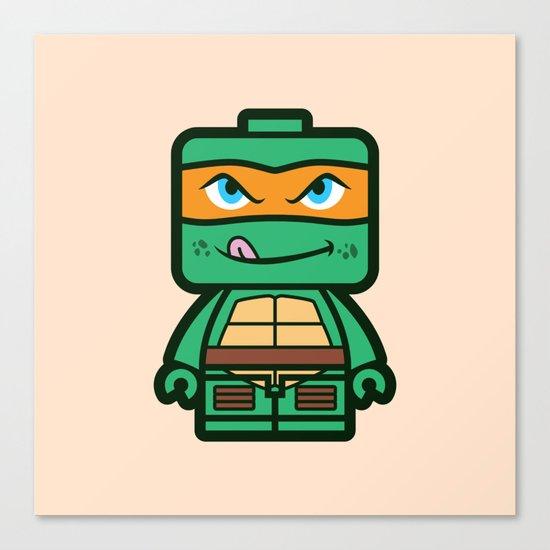 Chibi Michelangelo Ninja Turtle by brogressproject
