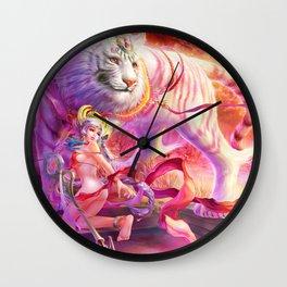 Four Symbols-White Tiger Wall Clock