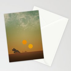 Binary Tragedy Stationery Cards