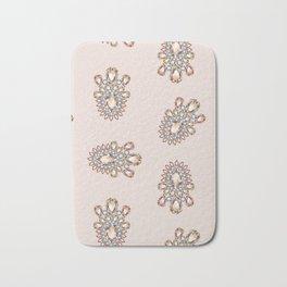 Jewelbox: Morganite Brooch in Light Blush Bath Mat