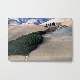 Tuscany Landscape Metal Print