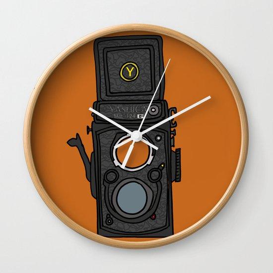 Yashica Wall Clock