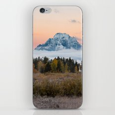 Autumn Sunrise in the Tetons iPhone & iPod Skin