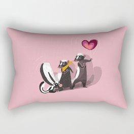 Skunk family (Happy birthday son/daughter) (c) 2017 Rectangular Pillow