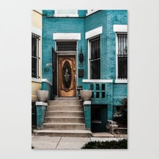 At Your Doorstep Canvas Print