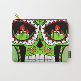 Sugar Skull #3 Carry-All Pouch