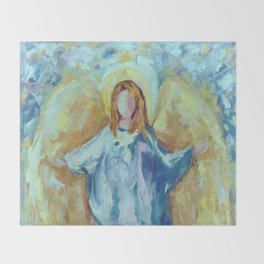 Angel Of Harmony Throw Blanket